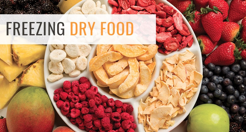 Freeze Your Dry Food At Home For Long Term Storage