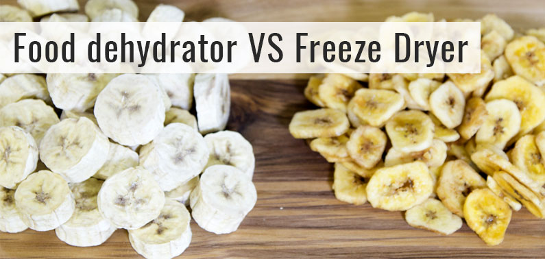 Food dehydrator VS Freeze Dryer