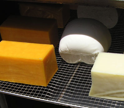 Cheese Ready For Smoking