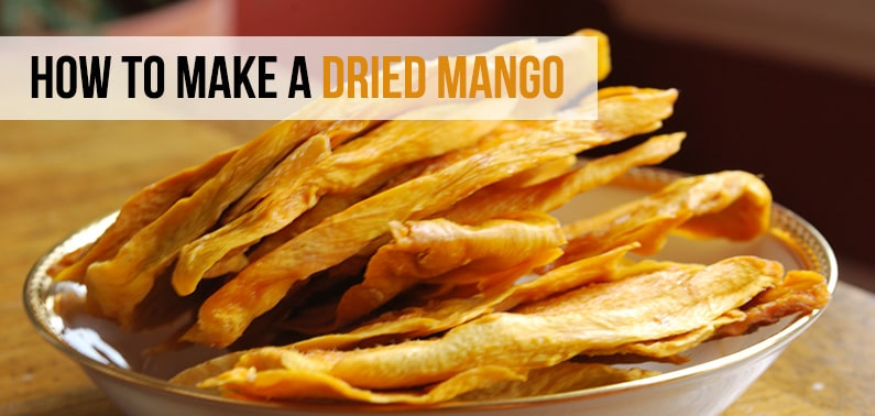 How to make a dried mango