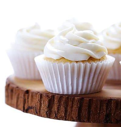 Lemon Spice Honey Cupcakes