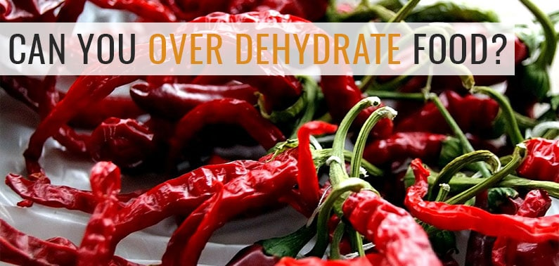 Can You Over Dehydrate Food