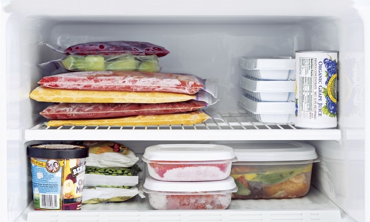 image of freezer bags and boxes