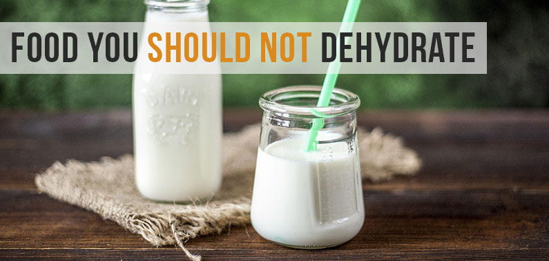 Food You Should Not Dehydrate