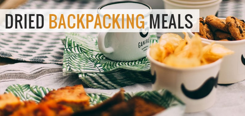 dried backpacking meals